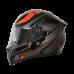 Origine Strada Graviter Black-Red Motosiklet Kaskı